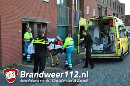 UPDATE: Inbreker slaat op de vlucht en raakt zwaargewond aan de Marijkestraat Waalwijk