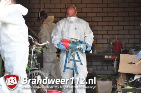 UPDATE: 150.000 pillen aangetroffen in schuur Waalwijk