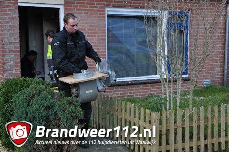 Hennepkwekerij geruimd in woning aan de Mede Waalwijk