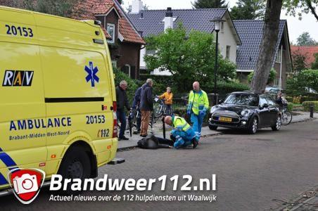 Jongetje verliest voorwiel tijdens fietsen met vriendjes en raakt gewond in Waalwijk