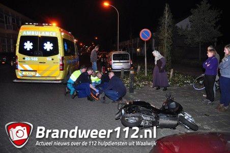 Man zwaargewond  aan de Grotestraat Waalwijk