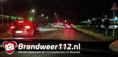 Politie beëindigt illegaal straatrace aan de Mechie Trommelenweg Waalwijk