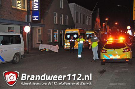 Medische noodsituatie in woning aan de Grotestraat Waalwijk