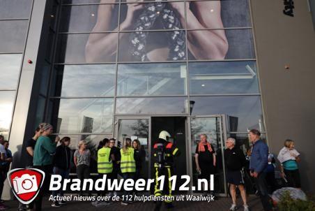 Sportschool in Waalwijk ontruimd na brandmelding