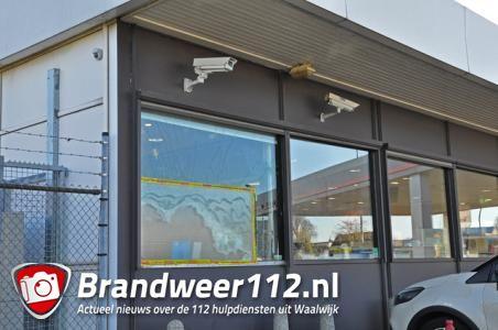 Sigaretten gestolen bij inbraak tankstation in Waalwijk
