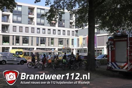 Brandweer rukt uit voor reanimatie bij Balade Waalwijk