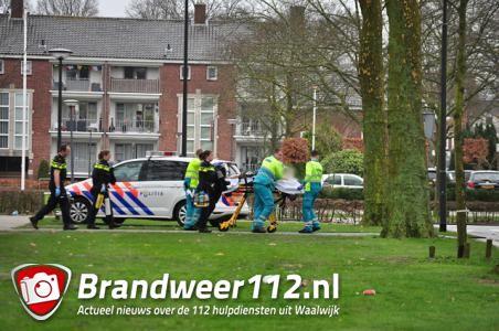 Massale inzet hulpdiensten voor reanimatie in oude school Waalwijk