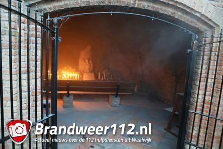 Vraagtekens over brand in Mariakapel Waalwijk