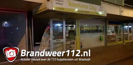 Inbraak telefoonwinkel aan de Irenestraat Waalwijk