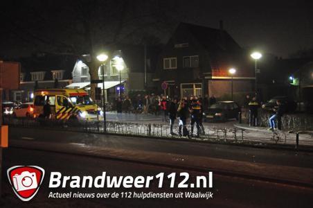 UPDATE: Man gewond bij steekpartij naast café aan de Burgemeester van der Klokkenlaan Waalwijk