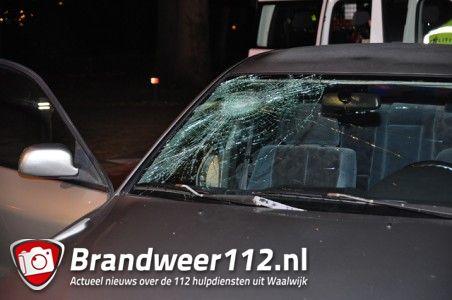 Fietser gewond na aanrijding aan de Burg. Moonenlaan Waalwijk