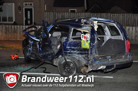 UPDATE: Ernstig ongeval aan de Ambrosiusweg Waalwijk