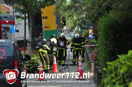 Tien huizen ontruimd in Waalwijk na groot gaslek