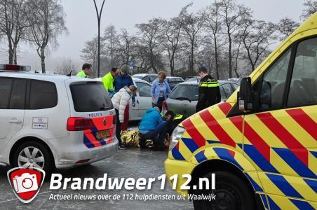 Vrouw flink gewond door spekglad wegdek aan de Drunenseweg Waalwijk