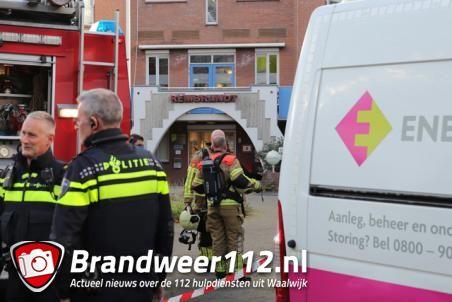 Tien woningen ontruimd vanwege gaslek aan het Rembrandtpark Waalwijk