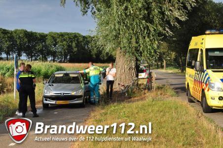 Wielrenner aangereden op Blaasbalgweg in Waalwijk