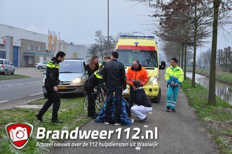 Jongen mishandeld op fietspad aan de Sluisweg Waalwijk
