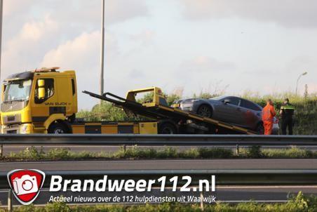 Man zonder vaste woon- of verblijfplaats rijdt in gestolen auto op A59 Waalwijk