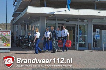 Achtervolging door medewerkers van Albert Heijn aan De Els Waalwijk