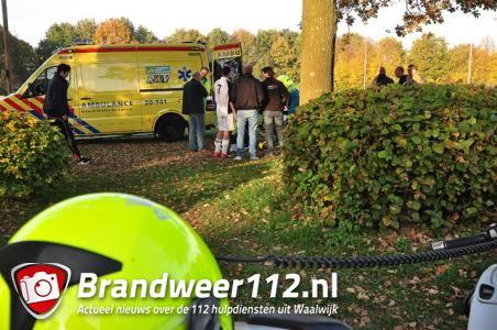 Voetballer raakt gewond tijdens wedstrijd aan de Akkerlaan Waalwijk