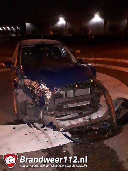 Ongeval op kruising aan de Kleiweg Waalwijk