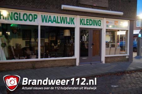 Collectebussen voor zieke kinderen én de Voedselbank gestolen bij kringloopwinkel in Waalwijk