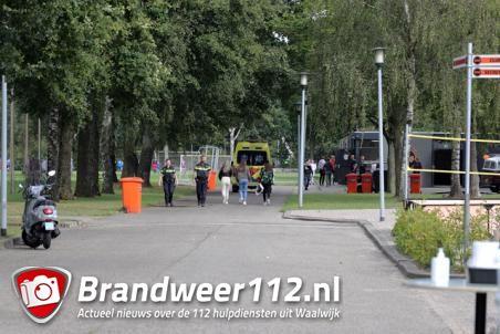 Persoon gewond na vechtpartij bij WSC Waalwijk