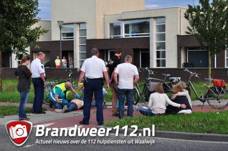 Man zwaargewond na val van fiets aan de Noorder-Allee Waalwijk