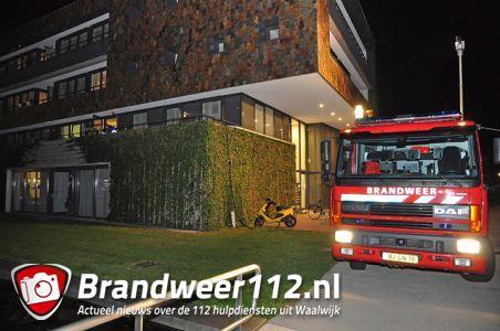Brand in houten bloembak bij Stichting Prisma aan de Koetshuislaan Waalwijk