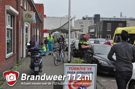 Twee meisjes aangereden aan de Victoriestraat Waalwijk