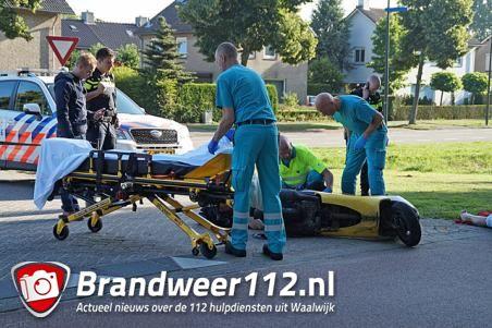 Ongeval aan de Olympiaweg Waalwijk