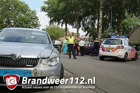 Vrouw gewond na aanrijding aan de Blyde Incomstelaan Waalwijk