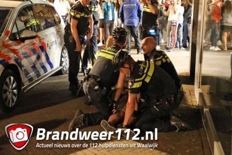 Twee broers aangehouden aan de Grotestraat in Waalwijk