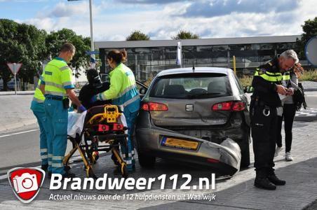 Vrouw raakt gewond aan de Taxandriaweg Waalwijk