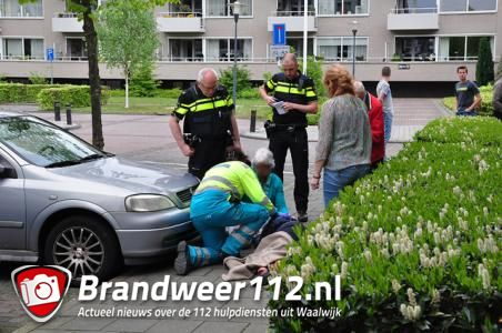 Vrouw naar ziekenhuis door val op straat in Waalwijk