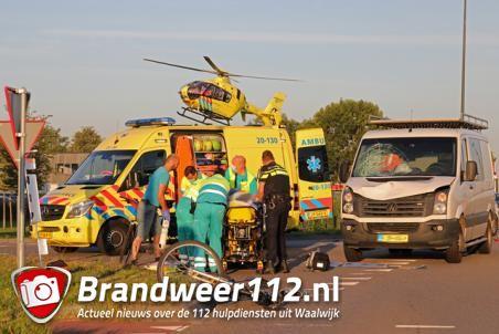 Fietser raakt ernstig gewond bij ongeval aan de Taxandriaweg Waalwijk