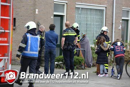 Bewoner van huis gewond bij het klussen aan de Prof. Nolenslaan Waalwijk