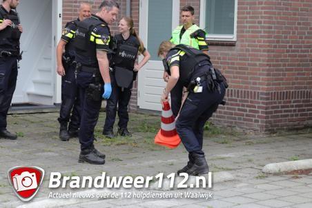 Schietpartij aan de Andreas Zijlmansstraat Waalwijk