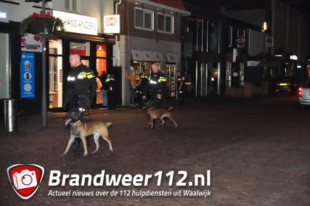 Twee aanhoudingen bij mogelijk steekincident in Stationsstraat Waalwijk