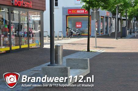 UPDATE: Vandalen houden huis in centrum aan de Stationsstraat Waalwijk