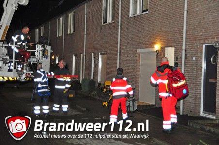 Reanimatie in woning aan de Wilhelmina Druckerstraat Waalwijk