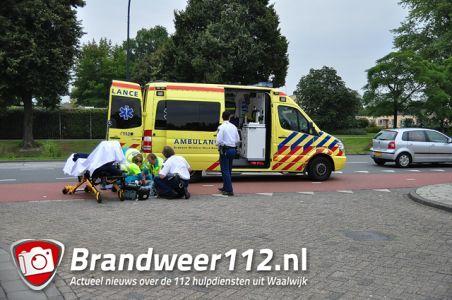 2 gewonden bij aanrijding aan de Mozartlaan Waalwijk