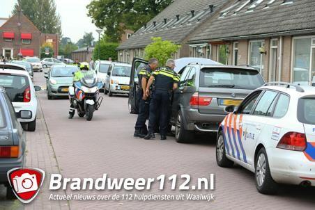 Man wordt aangehouden na achtervolging door Waalwijk