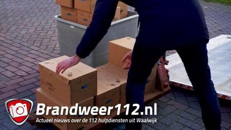 Gestolen babyvoeding ter waarde van 70.000 euro gevonden in Waalwijk, man en vrouw opgepakt