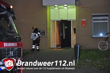 Brand in linnenkamer GGZ Breburg aan de Maylaan Waalwijk