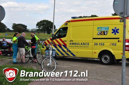 Man wordt onwel en valt van fiets aan de Drunenseweg Waalwijk