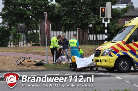 Jongetje raakt gewond aan de Noorder Parallelweg in Waalwijk