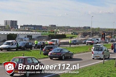 2 ongevallen op de Midden-Brabantweg Waalwijk