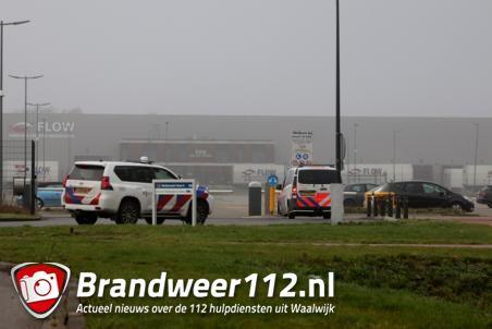 Incident aan de Mechie Trommelenweg Waalwijk