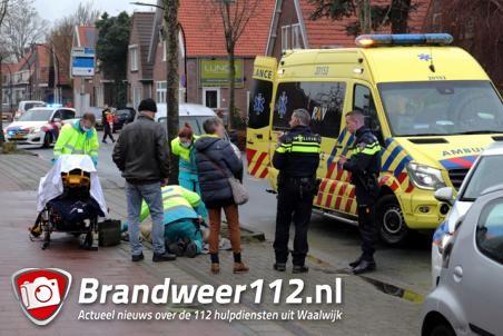 Vrouw raakt zwaargewond na aanrijding aan de Burg. Smeelelaan Waalwijk